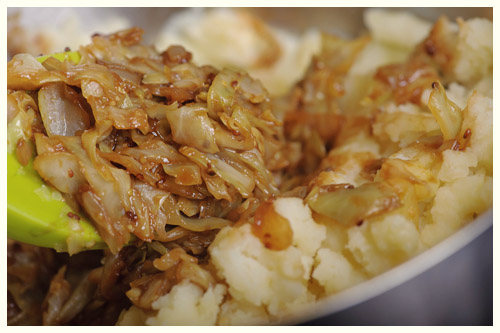 Sweetheart Cabbage Mash