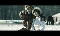 WINTER ROMANCE (ARIUKAMO) Tags: winter friends horse love forest costume photographer traditional romance mongolia cinematic sar ger photoclub mongolian deel tsagaan 20t ariukamo