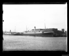 MEGANTIC of Liverpool at Aberdeen Wharf, Millers Point, Sydney (Australian National Maritime Museum on The Commons) Tags: sydney aberdeen wharf steamship steamer sydneyharbour megantic millerspoint whitestarline aberdeenwharf frederickwilkinson dalgetys frederickgarnerwilkinson