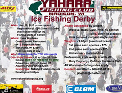 Yahara Fishing Club Ice Fishing Derby Sat. Jan. 19 (Dan Small Outdoors) Tags: icefishing dansmall outdoorsradio yaharafishingclub