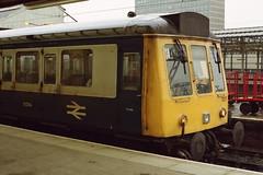 19910316 021 Crewe. BRCW Class 118, DMBS 51314 Of Set TS317 (15038) Tags: br diesel trains crewe railways britishrail dmu 51314 class118 brcw dmbs t317