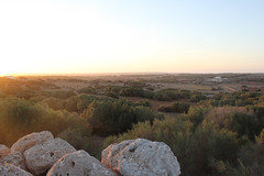 Dusk / Menorca / Spain (sparrowhall) Tags: light sun sunrise landscape island countryside daylight spain rocks sundown dusk farm country brush land arid menorca scky sparrowhall
