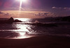Atardecer invernal (marathoniano) Tags: sunset españa naturaleza sun art sol cortina beach nature landscape see mar spain arte playa natura paisaje reflexions espagne cartagena cala mediterráneo marathoniano ramónsobrinotorrens