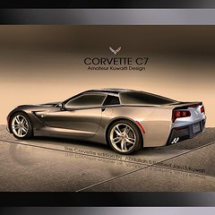 New C7 edited by photoshop    (Abdullah Rashed - KWT ( excuse 4 slow replies)) Tags: photoshop square design model gm ray general designer stingray c sting motors vision thoughts squareformat kuwait concept shape corvette amateur coupe rashed redesign abdullah  2014 hybird    c7 reshape  2013    worldcars     iphoneography instagramapp uploaded:by=instagram
