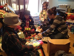 240 Opening Presents (sdobie) Tags: christmas family iris presents photostream cayden koston 2011 lylee