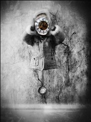 Self winding Chronometre (Benamon Tame Photography) Tags: portrait clock surreal clockwork steampunk iphone mobilephotography iphoneart iphoneography iphoneonly iph100 lamaf2012
