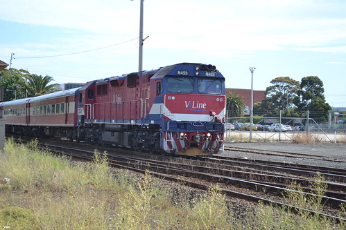N455 at Geelong North