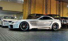 Mercedes FAB Design SLR McLaren Desire (benduj78) Tags: white cars blanco car mall mercedes dubai uae emirates german mercedesbenz autos weiss bianco blanc coches spotting voitures supercars