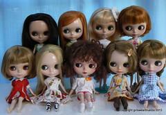 I have too many dolls