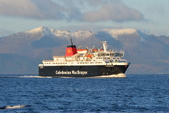 MV CALEDONIAN ISLES,Heading For Ardrossan on saturday (Time Out Images) Tags: scotland clyde north calmac isles mv firth caledonian ayrshire ardrossan of