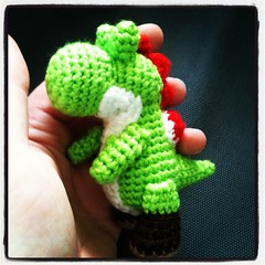 Mini Yoshi Amigurumi : The Worlds Best Photos of amigurumi and mario - Flickr ...