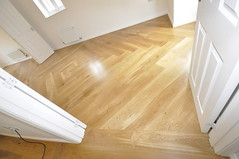 Wide Oak overlay to a Colchester home (The Flooring Artisan) Tags: wood floors oak parquet wide overlay oil flooring plank colchester solid hardwax rainleaf