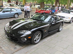 Dodge Viper RT D1VPR (Andrew 2.8i) Tags: queen queens square bristol classic car meet show breakfast club classics cars chrysler dodge viper rt targa open roadster convertible american musle pony sports sportscar youngtimer
