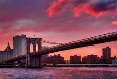 Colorful Crossing (NYRBlue94) Tags: brooklyn manhattan new york river