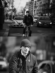 [La Mia Citt][Pedala] (Urca) Tags: milano italia 2016 bicicletta pedalare ciclista ritrattostradale portrait dittico bike bicycle nikondigitale mir biancoenero blackandwhite bn bw 872174