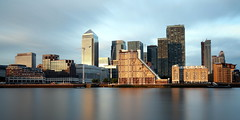 View on Canary wharf (pooly7) Tags: city uk longexposure sunset england urban london modern clouds mood cityscape outdoor dusk londres canarywharf goldenhour urbanscale brexit