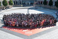 University of Salford 2016 Graduation Ceremony 1 (University of Salford) Tags: quays university scholars graduates lowry event graduation degree graduand salford