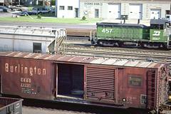 CB&Q Class XML-5 23230 (Chuck Zeiler) Tags: cbq class xml5 23230 burlington railroad box car boxcar freight chz