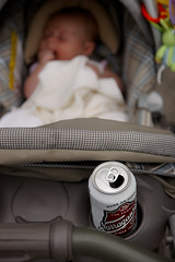 _MG_0095-5 (k.a. gilbert) Tags: baby beer girl drunk lucy infant carriage bokeh stroller canon20d cerveza daughter drinking cupholder pint survival parenting narragansett kinger tamron1750mmf28 madeonhonor soldonmerit