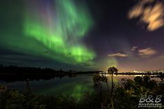 Still August night (B&B Kristinsson) Tags: auroraborealis northenlights norðurljós elliðavatn reykjavik iceland
