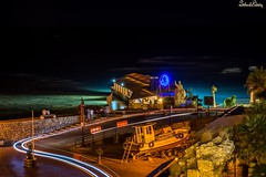 Byblos at night, Lebanon (Salim El Khoury) Tags: composition creative d7200 nikon boat longexpo longexposure nightphotography dark lights light night nightscape seascape seaside sea water bay lebanon jbeil byblos destination travel