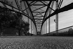 Point of view (michael_hamburg69) Tags: hamburg germany deutschland river fluss elbe elbbrcke bridge alteharburgerelbbrcke 1899 stahlbogenbrcke stahl steel sderelbe steelarchbridge