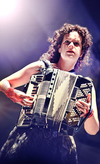 Happy Birthday, Rgine Chassagne (Arcade Fire) (kirstiecat) Tags: rginechassagne arcadefire canadian band live concert music indie lolla lollapalooza happybirthday thesuburbs neonbible funeral reflektor female woman accordion accordinist singer musician