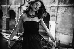 Wind  ... (alessandrafinocchiaro67) Tags: monochrome blackwhite nice nikond750 venice venezia portrait woman lady beautiful beauty open lagoon summer flickrtravelaward nicefeelings bestportraitsaoi