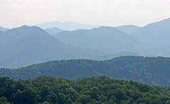 Forever Blue (jrussell.1916) Tags: greatsmokymountainsnationalpark tennessee blue green haze mountains canonef70200mmf4lis landscapes
