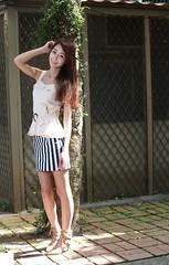DP1U6145 (c0466art) Tags: lovely cute pretty university taiwan girl  beautiful eyes figure slim long hair sweet smile nextdoor kind charming gorgeous out door portrait light canon 1dx c0466art