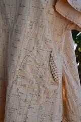 Nina shirt3 (Danny W. Mansmith) Tags: handmadeclothing teastains cotton handmade pockets oldfriend gift dannymansmith burienwashington sewing flatfelledseams volume swing
