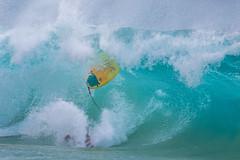 that moment (bluewavechris) Tags: maui hawaii makena oneloa ocean water sea well wave suurf ride fun bail wipeout barrel lip fall fail