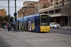 106-Adelaide-11_07_16 (Lt. Commander Data) Tags: 2016 winter july australia southaustralia adelaide baytram entertainmentcentre glenelg victoriasquare adelaidemetro tram classic flexity 106