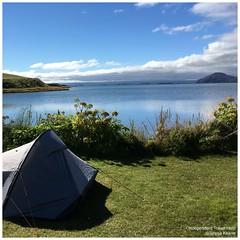 Myvatn campsite (indtravhelp) Tags: myvatn campsite tent camping lake picmonkey