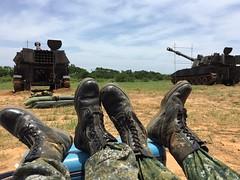 Taiwan military (Lolosu) Tags: taiwan military m109 soldier 軍人 陸軍 砲兵 artillery m105 m110 m155 新訓 下基地 training tank destroye loose cannon selfpropelled gun xt85 xt69 國軍