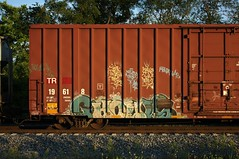 Ghouls (quiet-silence) Tags: graffiti graff freight fr8 train railroad railcar art ghouls ghoul a2m d30 dirty30 boxcar tr tr19618