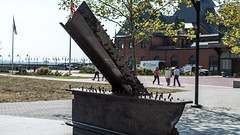 empty sky, jersey city-00204 (Visual Thinking (by Terry McKenna)) Tags: ellisisland statueofliberty nyc harbor parks