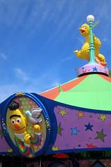 Sesame Place: Sunny Day Carousel (wallyg) Tags: amusementpark buckscounty langhorne pennsylvania sesameplace sesamestreet themepark sunnydaycarousel carousel bigbird bert