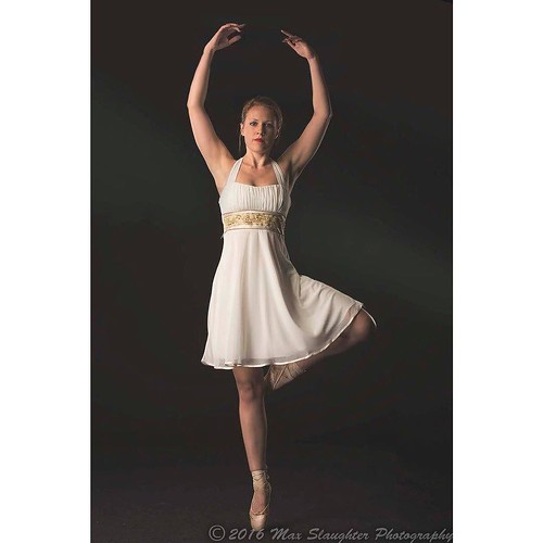 Samantha is a ballerina and did cool stuff for our shoot together.