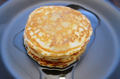 Spelt and Flaxseed Pancakes (mutherfudger) Tags: food indoor breakfast pancakes spelt flaxseed