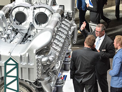Innotrans2016_14 (Rolls-Royce Power Systems AG) Tags: mtu innotrans rollsroyce power systems rail bahn locomotive engine powerpack