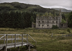 The Barracks... (Harleynik Rides Again.) Tags: barracks glenelg bernera jacobite mountain ruin bridge scotland highlands rebellion harleynikridesagain