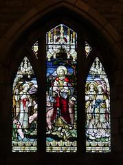 Brecon, Powys (Oxfordshire Churches) Tags: brecon aberhonddu powys wales cymru panasonic lumixgh3 uk unitedkingdom johnward churches anglican churchinwales cathedrals stainedglass sheep lambs listedbuildings gradeilisted
