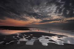 Sunset- (jen-kai) Tags:               nikon d90 sigma 2016 taiwan travel summer water sea sun sunset sky light night