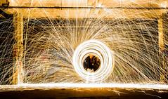 LIGHTPAINTING 2 (pj lens) Tags: 550d canon lightpainting 2014 texture abstrait rond motif cercle organique fond noir surraliste bordure photo calme minimalisme