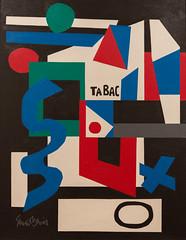 Stele, 1956 (Jonathan Lurie) Tags: art museums stuart davis museum wisconsin milwaukee mam artinmuseums milwaukeeartmuseum milwaukeewisconsin stuartdavis unitedstates us photographsofart