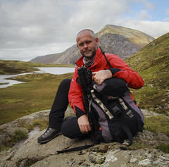 A rare portrait of myself (Nick Livesey Mountain Images) Tags: