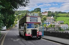 Classic Open Top to Salcombe (Better Living Through Chemistry37) Tags: devongeneral stagecoach stagecoachdevon stagecoachsouthwest lrv992 19992 leyland leylandtitan pd2 pd212 opentopbuses salcombe shadycomberoad metrocammell orion 105 buses busessouthwest busesuk transport transportation vehicles vehicle psv publictransport