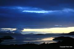 North West coast - Night Skye. (Peter J. Ham.) Tags: life uk sea wild summer mountains west skye nature water beauty islands scotland scenery britain views stunning scenes plockton peninsulars
