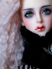 Katrinelle with new green eyes (kozabo) Tags: asian amber doll bjd soom supergem ladious